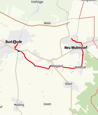 Karte / Buxtehude - Neu Wulmstorf