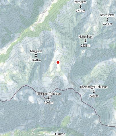Karte / Tribulaunhütte