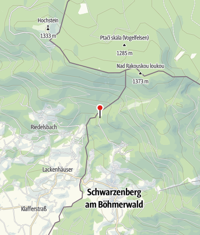 Karte / Parkplatz Oberschwarzenberg