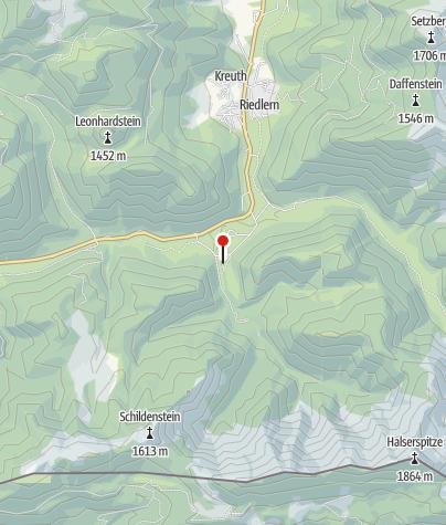 Mappa / Herzogliche Fischzucht Kreuth