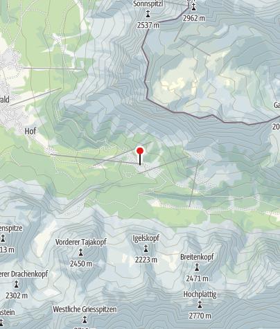 Map / Gasthof Ehrwalder Alm