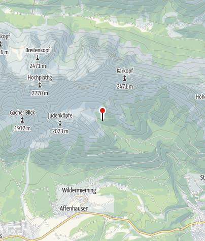 Karte / Neue Alplhütte