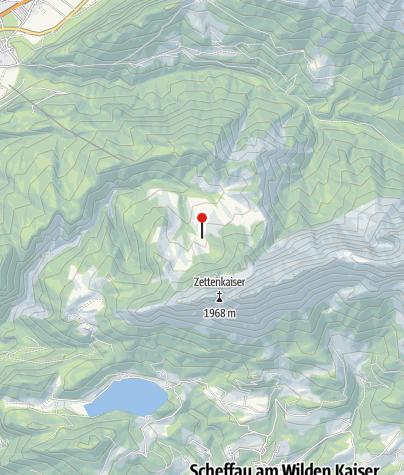 Karte / Kaindlhütte