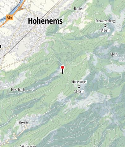 Karte / Götzner Haus (Naturfreunde-Hütte)