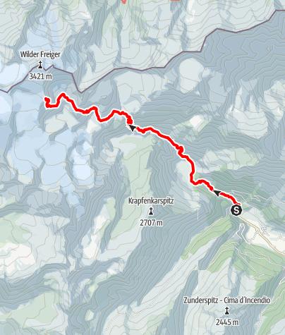 Karte / Zum Becherhaus