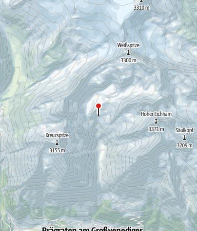 Karte / Eisseehütte