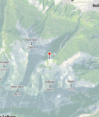 Karte / Inzinger Alm