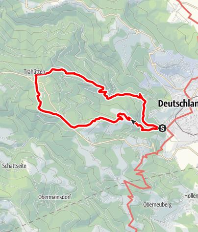 Karte / Ruhri-Panorama-Weg