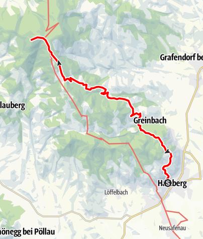 Karte / 16 Hartberg - Staudach - Masenberg