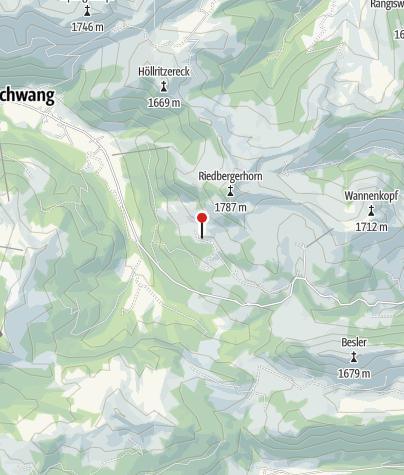 Karte / Obere Mittel-Alpe