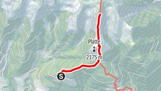 Karte / Bergtour Pfalzen - Sambock