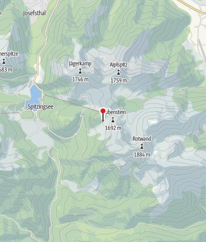 Karte / Obere Maxlraineralm