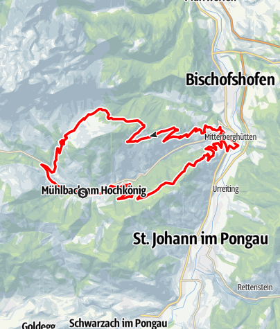 Karte / Mosott-Arthurhaus-Runde (Tour 3)