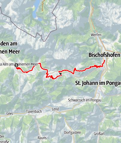 Karte / Panoramatour Hochkönig