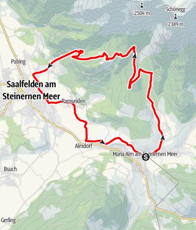 Karte / Ramseiderrunde - Variante Sandten