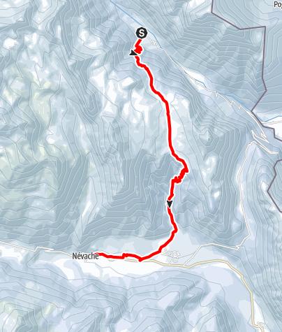 Map / Day 7 I Re Maggi - Névache
