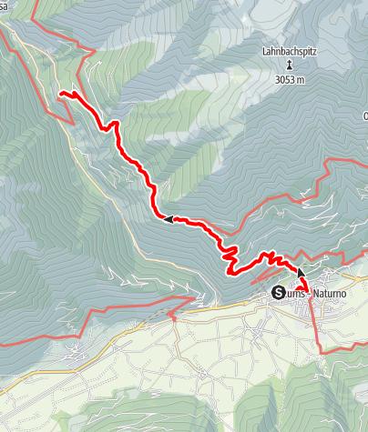 Karte / Von Naturns nach Katharinaberg
