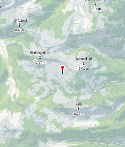 Karte / Grasgehren-Hütte