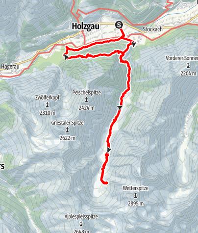 Karte / 2020-06-27 Sulzlam und Frederik Simms Hütte