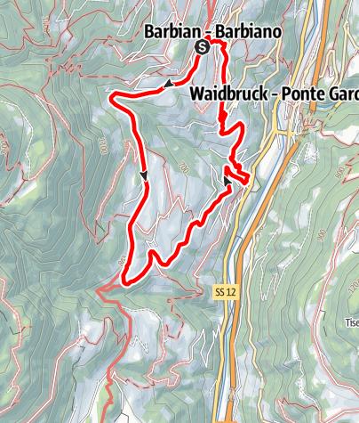 Karte / Barbian-Saubach-Kollmann-Barbian