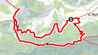 Karte / K Backhendltour