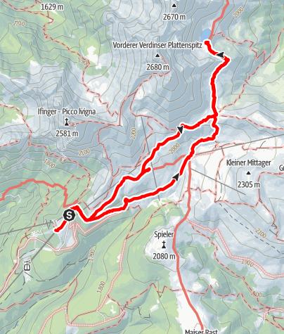 Karte / Wanderung am 14. Juli 2020 um 10:14