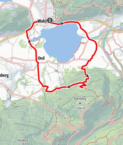 Karte / Von Walchsee zur Lippenalm