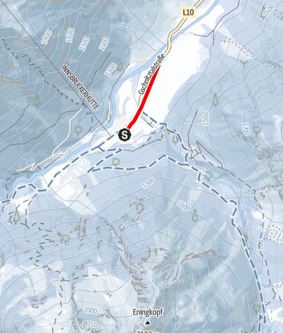 Karte / Gschnitz Übungsloipe