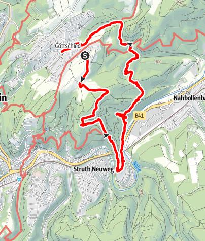 Karte / Wanderung am 24. Juli 2020 um 16:23