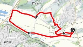 Karte / Durch den Bochumer Süden