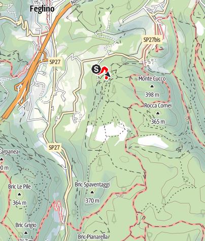 Karte / La Torre - in diesem Klettergarten bei Finale ist für Jeden was dabei!