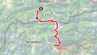 Mappa / 2-Tagestrip: Wildbad Kreuth - Blaubergkamm - Halserspitz - Gufferthütte - Schneidjoch - Guffertspitze - Guffertstein - Steinberg