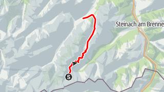 Karte / 4. Bremer Hütte - Innsbrucker Hütte - Neustift