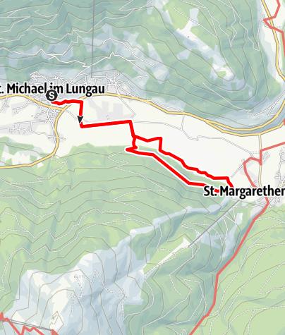 Karte / St. Michael: Zur Mühle in St. Margarethen