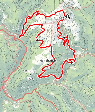 Karte / Wispertalsteig