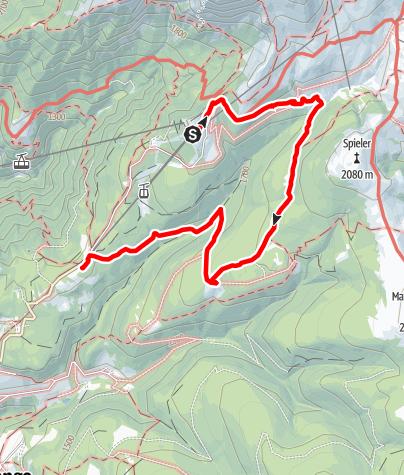 Karte / Merano2000 Falzeben