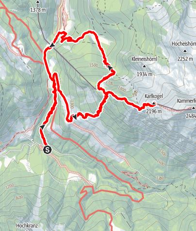 Karte / Karlkopf 16.09.2020 09:30:58