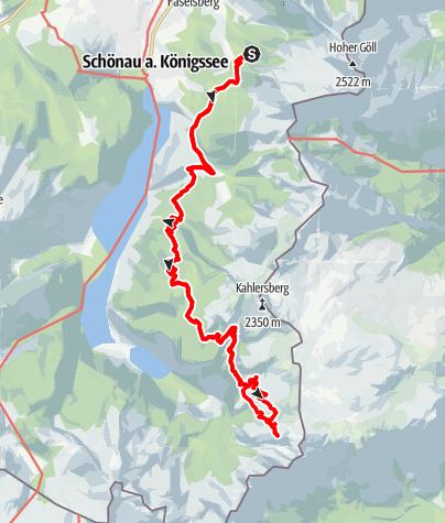 Karte / Bike and Hike Wildpalfen