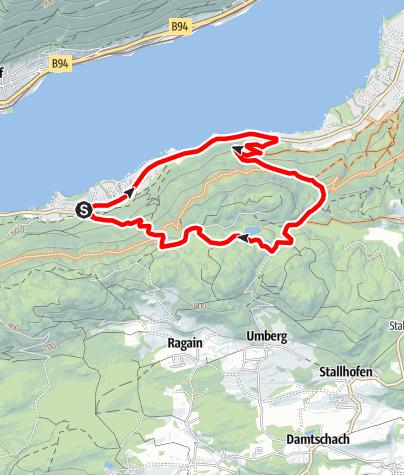 Karte / Camping-Berghof-Feierabendrunde