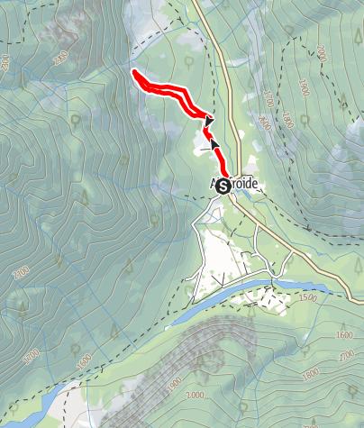 Karte / (F) Ailefroide - Sektor l'Éboulement - Baliverna