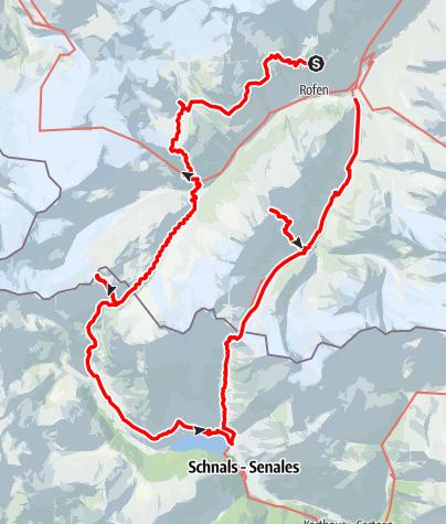 Karte / Ötztaler Runde