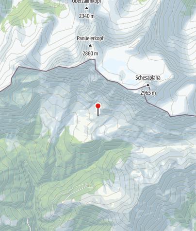 Karte / Trotti-Station Schesaplanahütte