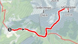 Karte / Scheiblingstein