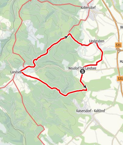 Map / Um den Heidriegel