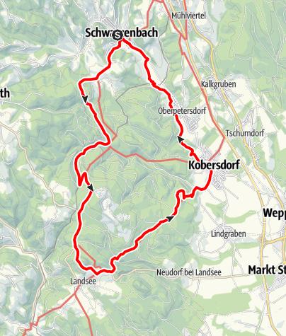 Karte / Schwarzenbach-Runde