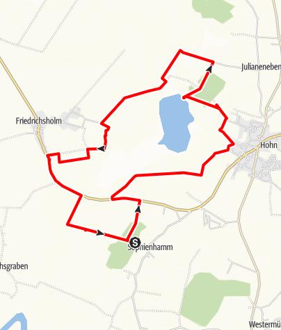Karte / Hohner See