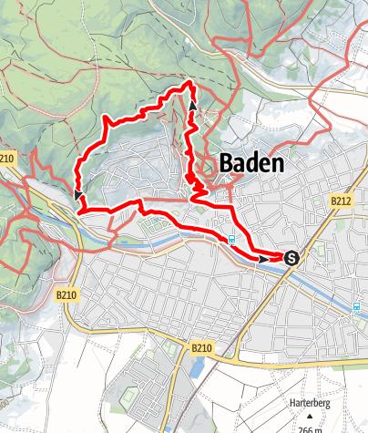 Map / Richtberg 417m & Theresienwarte