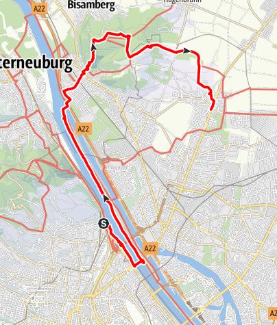Karte / Wanderung am 31. Dezember 2020 um 15:12