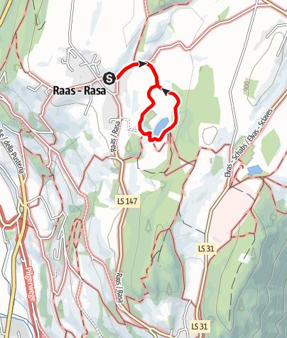 Karte / Naturlehrpfad Raiermoos