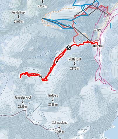 Karte / Oberzalimkopf